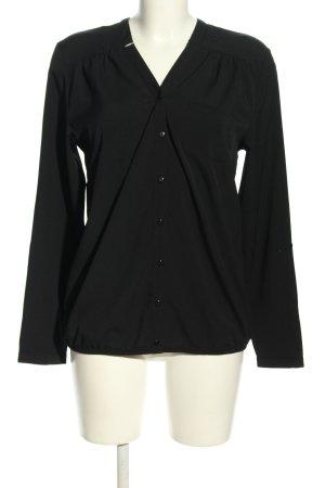 BODY FLIRT Camicia a maniche lunghe nero stile casual