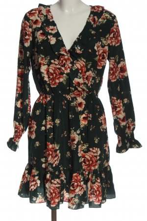 BODY FLIRT Robe à manches longues motif de fleur style décontracté