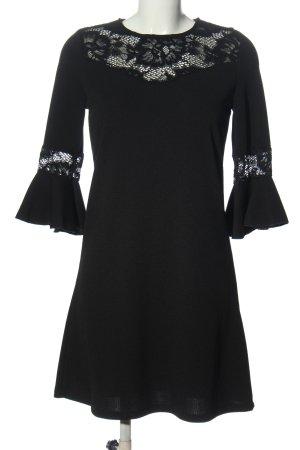 BODY FLIRT Robe à manches longues noir élégant