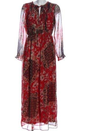 BODY FLIRT Sukienka z długim rękawem Na całej powierzchni Elegancki