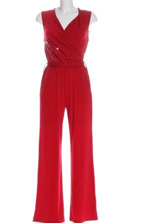 BODY FLIRT Langer Jumpsuit rosso elegante