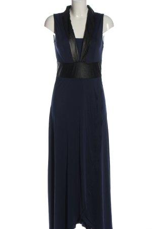BODY FLIRT Maxikleid blau-schwarz Elegant
