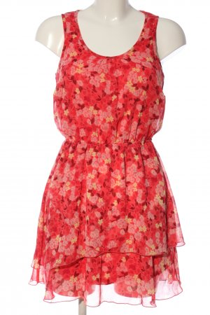 BODY FLIRT Mini-jurk bloemenprint casual uitstraling