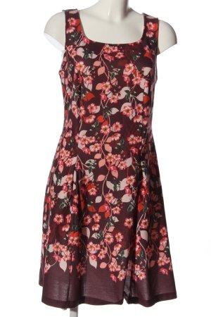 BODY FLIRT Mini Dress red-green allover print casual look