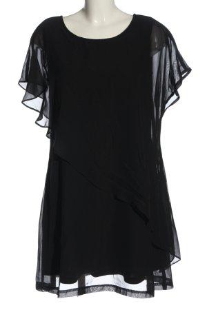 BODY FLIRT Mini-jurk zwart casual uitstraling