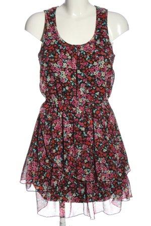 BODY FLIRT Mini-jurk volledige print casual uitstraling