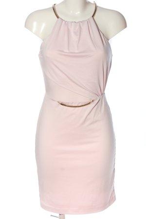 BODY FLIRT Sukienka mini różowy-złoto W stylu casual