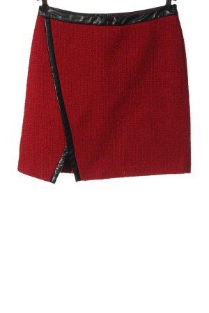 BODY FLIRT Mini rok rood-zwart gestreept patroon casual uitstraling