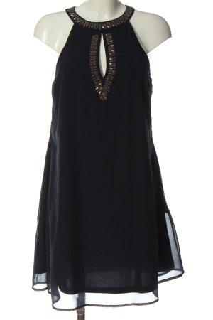 BODY FLIRT Sukienka z dekoltem typu halter niebieski Elegancki