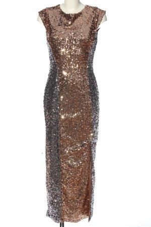 BODY FLIRT Sequin Dress bronze-colored extravagant style