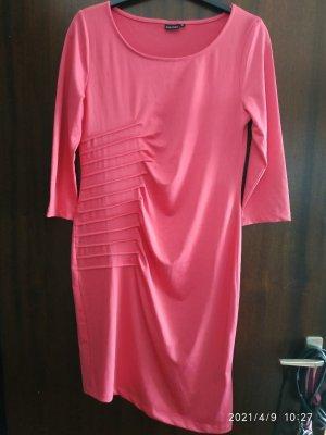 BODY FLIRT Stretch Dress raspberry-red polyester