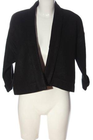 BODY FLIRT Blazer in maglia nero stile professionale