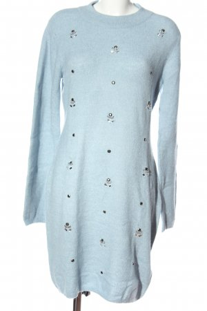 BODY FLIRT Strickkleid blau Casual-Look
