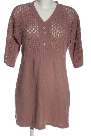 BODY FLIRT Maglione lavorato a maglia rosa stile casual