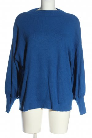 BODY FLIRT Sweter z dzianiny niebieski W stylu casual