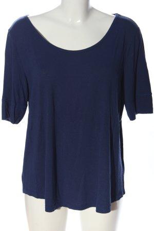 BODY FLIRT Koszulka z dzianiny niebieski W stylu casual