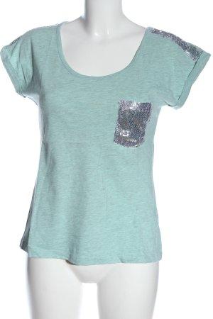 BODY FLIRT T-shirt turkoois gestippeld casual uitstraling