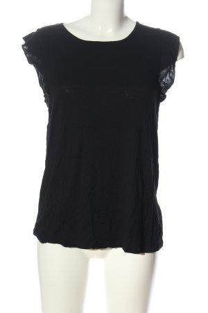BODY FLIRT T-shirt nero stile casual