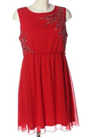 BODY FLIRT Robe à bretelles rouge imprimé avec thème style classique