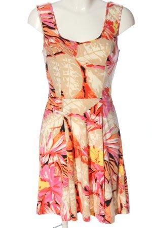 BODY FLIRT Sukienka na ramiączkach Abstrakcyjny wzór W stylu casual