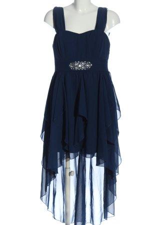 BODY FLIRT Sukienka na ramiączkach niebieski Elegancki