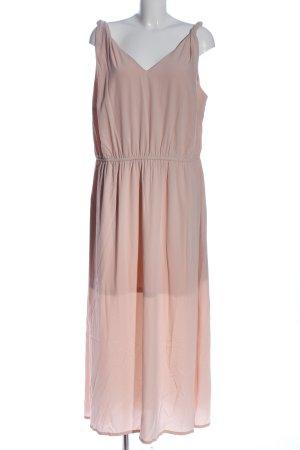 BODY FLIRT Sukienka na ramiączkach różowy Elegancki