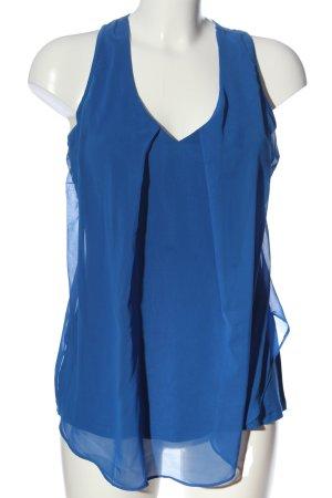 BODY FLIRT Top na ramiączkach niebieski W stylu casual