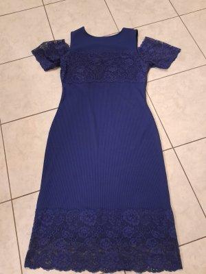 BODY FLIRT Sukienka z krótkim rękawem ciemnoniebieski