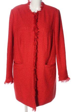 BODY FLIRT Manteau mi-saison rouge style décontracté