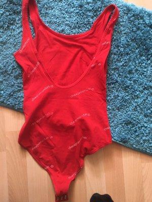Cheap Monday Basic Bodysuit red