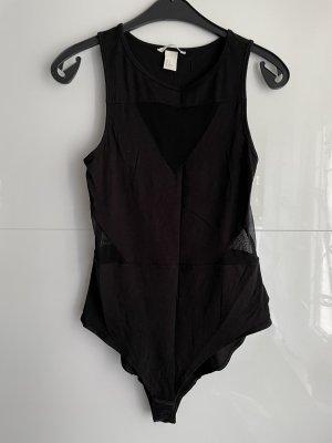 H&M Haut cut-out noir