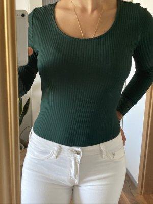 Body - grün - Ripp - Spitze - Only