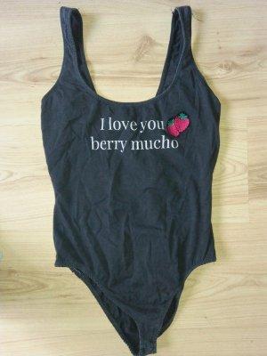 Body I love you berry mucho 34-36 36