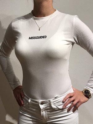 Missguided Bodysuit Blouse white