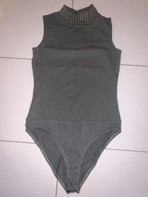Asos Body koszulowe khaki