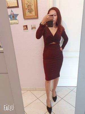 design thanh-thuy Evening Dress dark red