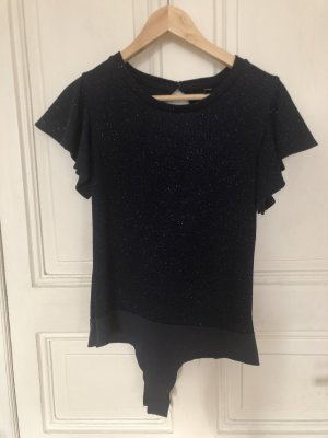 Only Bodyblouse donkerblauw