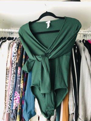 H&M Body ciemnozielony-zielony
