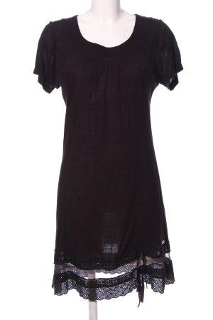 Body Needs A-Linien Kleid schwarz Casual-Look