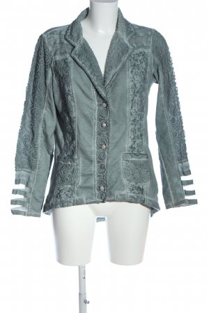 Body Needs Knitted Blazer blue flecked casual look