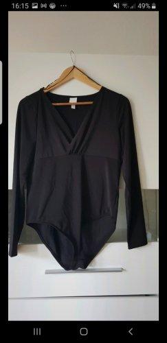 H&M Camicetta body nero