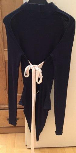 Body Rückenfrei Gr.36 von H&M In dunkelblau