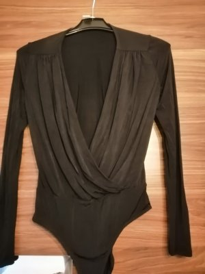 H&M Cowl-Neck Shirt black