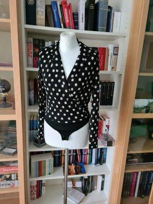 Body schwarz weiß Gr. XS (34) YAS neu €50 Bluse casual basic
