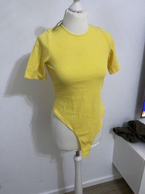 Body tshirt gelb neu