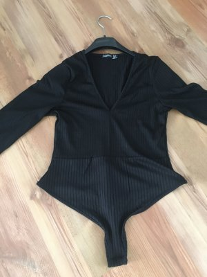 Bohoo Basic Bodysuit black