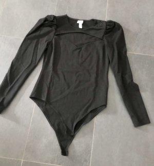 H&M Bodysuit Blouse black