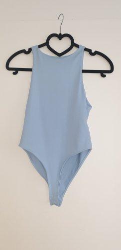 Zara Haut basique bleu azur