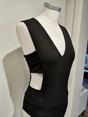 Zara Cut Out Top black