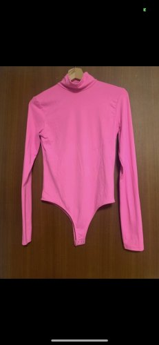 Bershka Basic Bodysuit pink